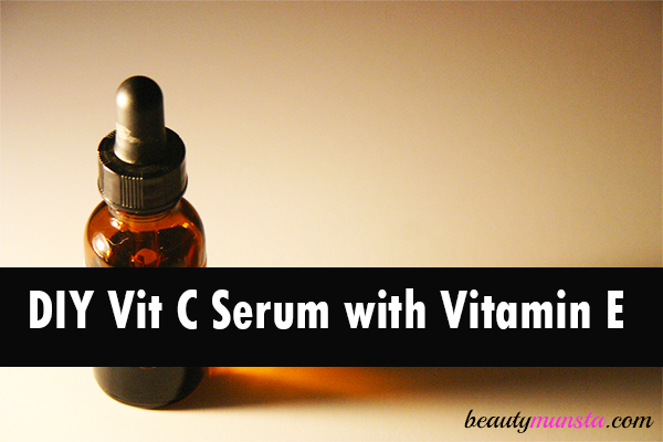 diy vitamin C serum with vitamin E