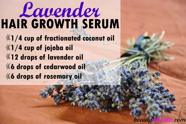 lavender hair growth serum