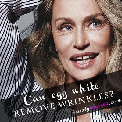 egg white for face wrinkles