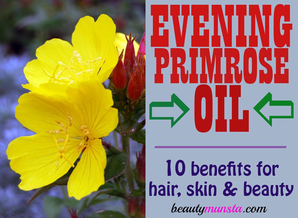 beauty benefits of evening primrose oil