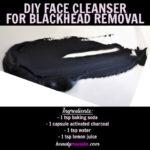 Homemade Face Cleanser for Blackheads