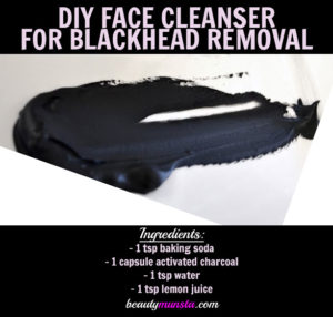 Homemade Face Cleanser for Blackheads