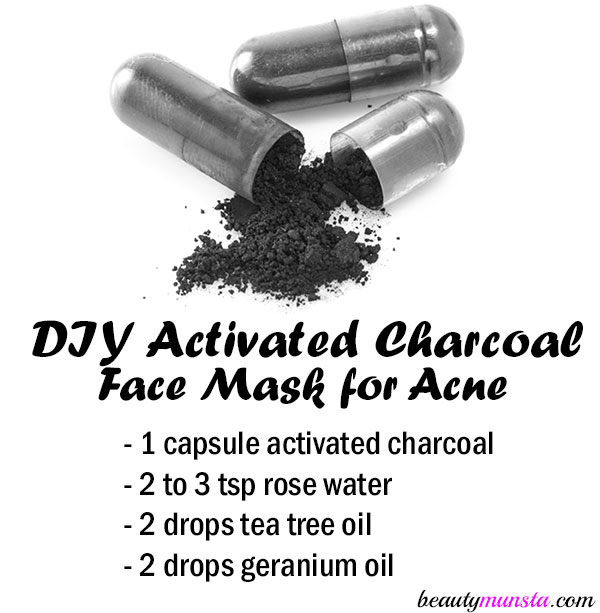 Bentonite clay and activated charcoal face mask detox your face diy activated charcoal face mask for acne solutioingenieria Gallery