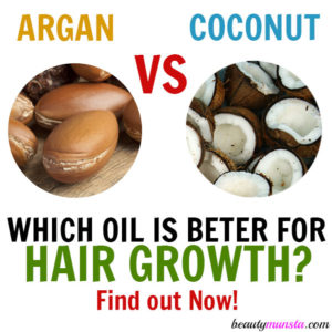 Argan Oil or Coconut Oil for Hair Growth – What's Better?