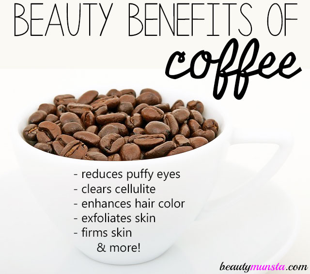 beauty benefits of coffee grounds