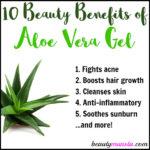 10 Beauty Benefits of Aloe Vera Gel for Beautiful Hair & Skin