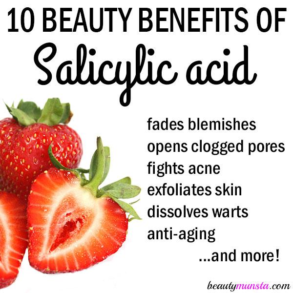 beauty benefits of salicylic acid