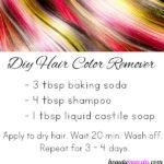 DIY Hair Color Remover with Baking Soda
