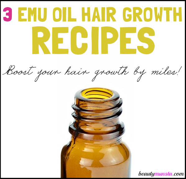 diy emu oil hair growth recipes