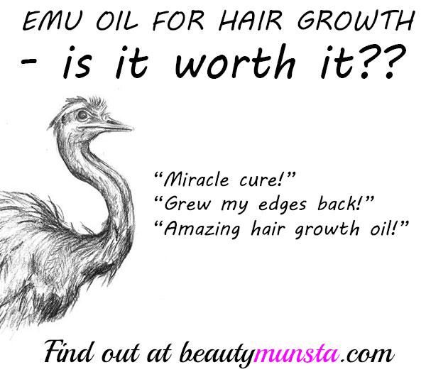 emu oil for hair growth