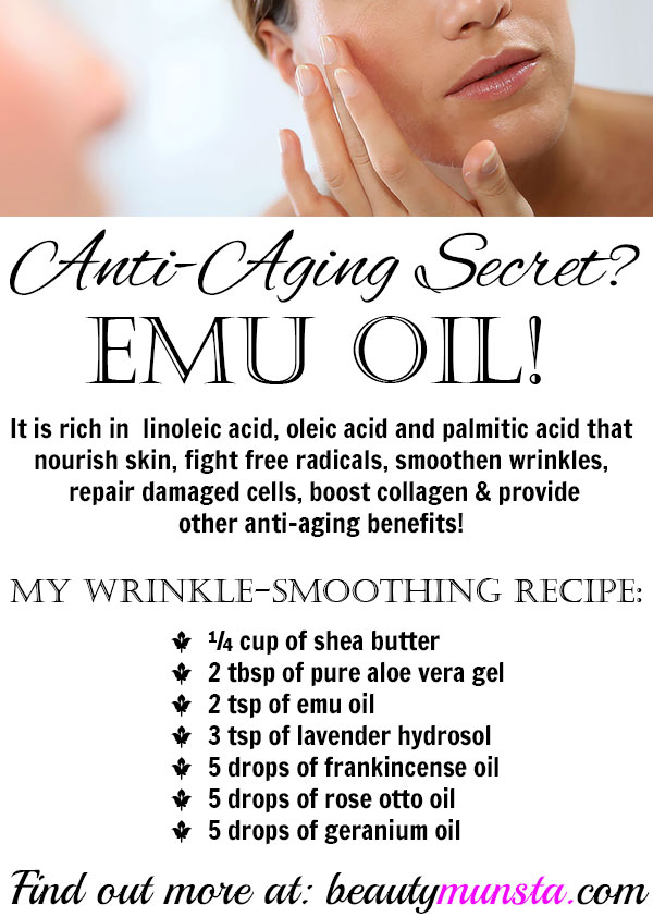 emu oil for wrinkles