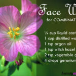 DIY Facial Cleanser for Combination Skin