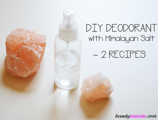 diy himalayan salt deodorant