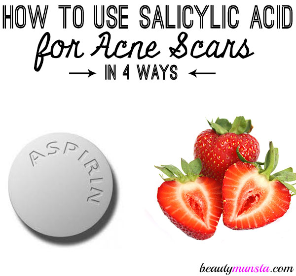 how to use salicylic acid for acne scars