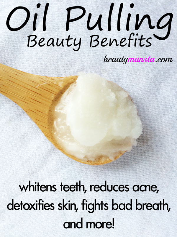 beauty benefits of oil pulling