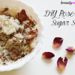 DIY Rose Petal Coconut Oil Sugar Scrub