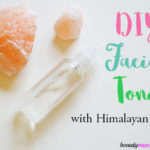 DIY Himalayan Salt Facial Toner for Acne
