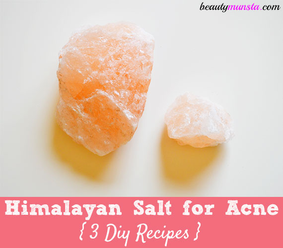 is himalayan salt good for acne