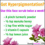 DIY Hyperpigmentation Scrub to Lighten & Even Skin Tone