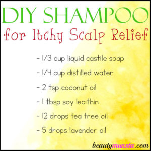 DIY Itchy Scalp Shampoo