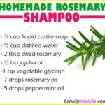 Homemade Rosemary Shampoo for Hair Growth, Itchy Scalp & More