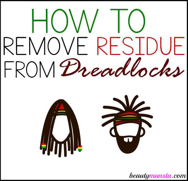 Learn how to remove residue from dreadlocks using this depp cleansing recipe!