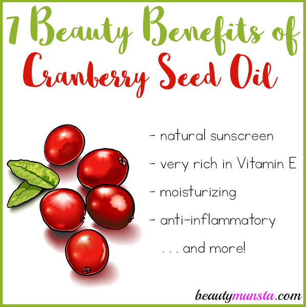 7 Beauty Benefits Of Cranberry Seed Oil
