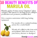 10 Beauty Benefits of Marula Oil