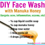 DIY Manuka Honey Face Wash