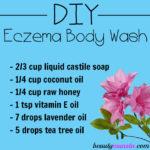 DIY Eczema Body Wash | All Natural, Healing & Moisturizing