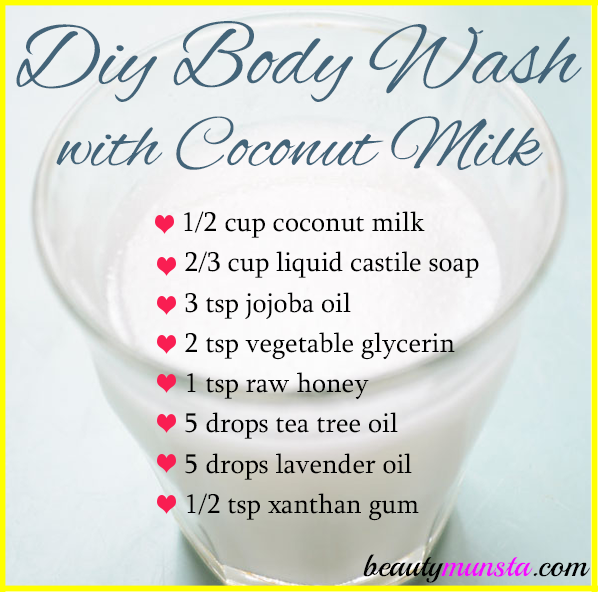 Natural Body Wash Recipe
