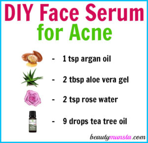 Homemade Face Serum for Acne