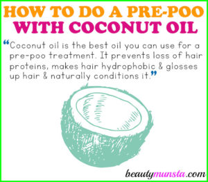 How to Do a Coconut Oil Pre Poo