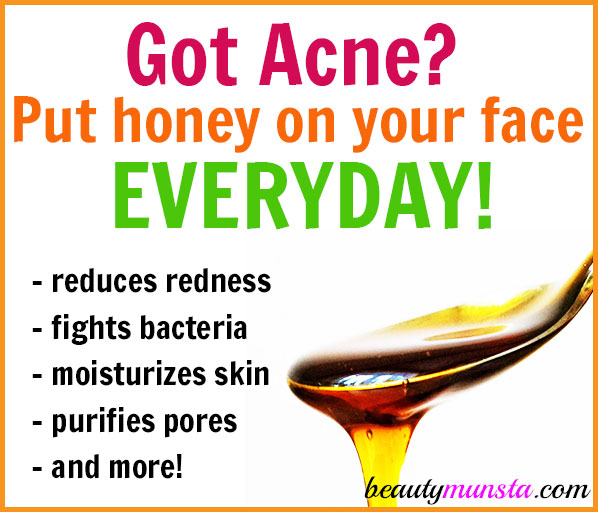 Learn how to use manuka honey for acne on your face everyday!