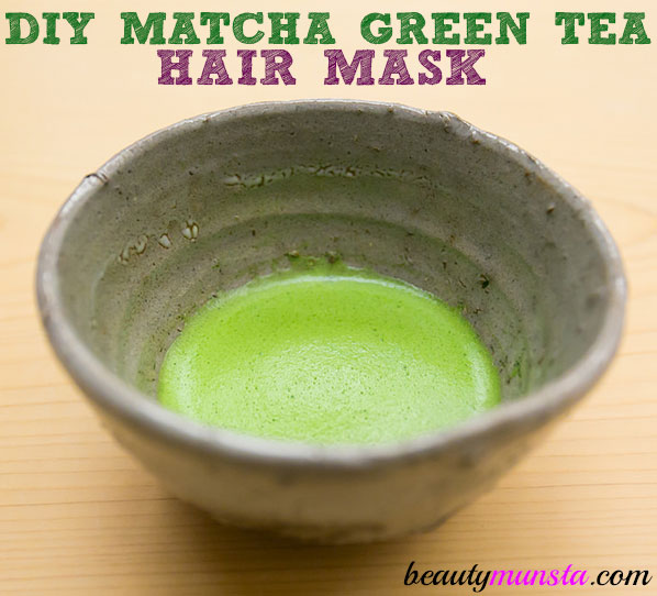 If you're a die-hard fan of matcha green tea frappuccino, then you must try out this DIY matcha green tea hair mask!