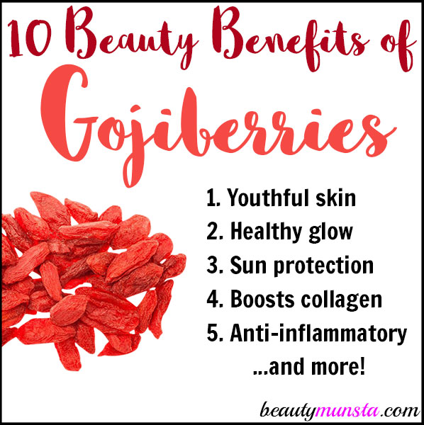 10 Beauty Benefits Of Goji Berries For Hair And Skin