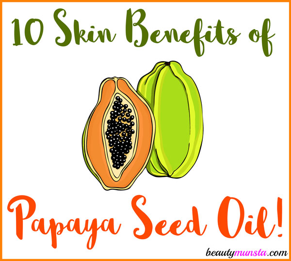 We normally discard papaya seeds when cutting up a papaya. But did you know that these seeds are actually used to produce the precious papaya seed oil? Yup! And in this post, we're going to cover some amazing benefits of papaya seed oil for skin!