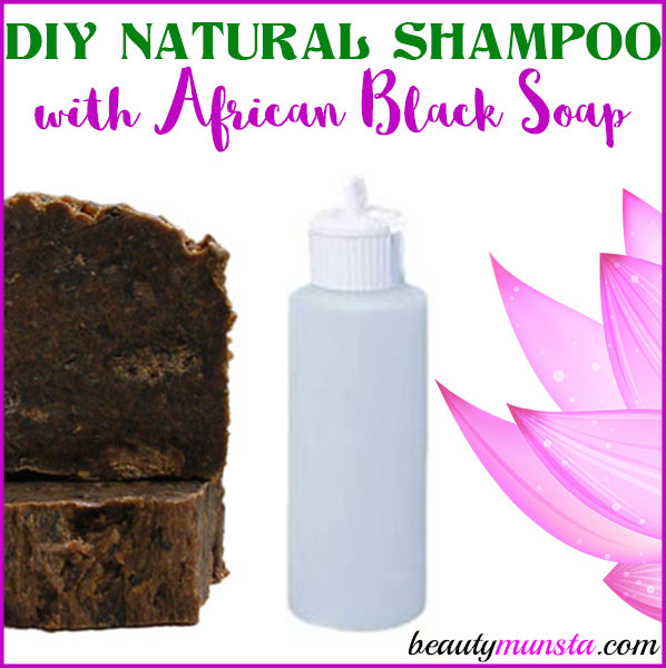 Diy african black soap shampoo homemade recipe beautymunsta - How to make shampoo at home naturally easy recipes ...