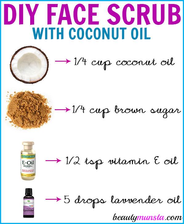 Diy Coconut Oil Face Scrub For Gentle Exfoliation Smooth Skin