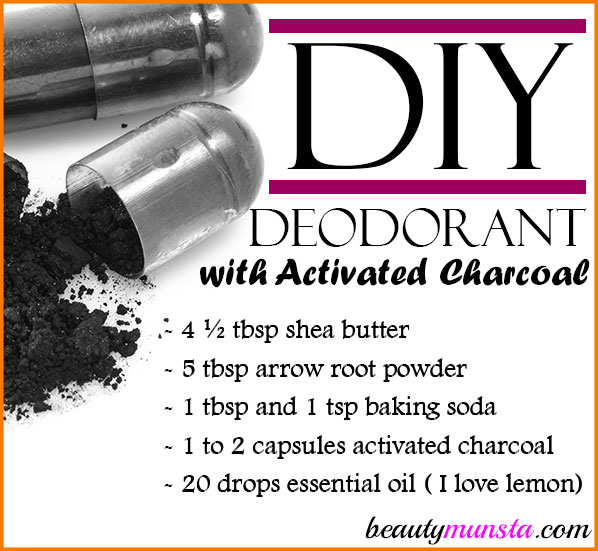 Activated charcoal is an amazing detox ingredient to add to your DIY deodorant! Check out this DIY deodorant with activated charcoal!