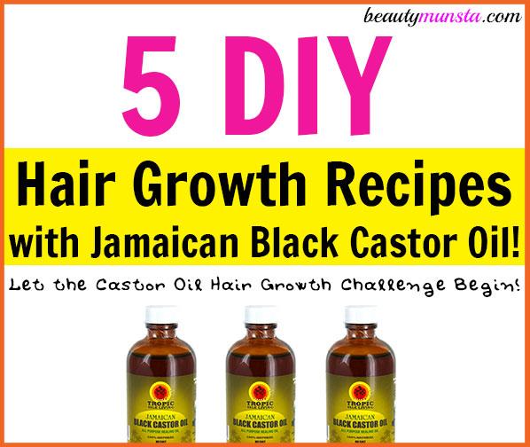 Hair Growth Oil Recipes For Natural Hair