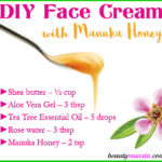 DIY Manuka Honey Face Cream