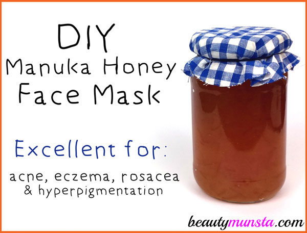 Make a DIY manuka honey face mask for acne, eczema, rosacea, hyperpigmentation and more! This natural goodness is a miracle product for beautiful skin!
