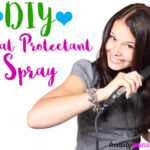 DIY Heat Protectant Spray to Prevent Hair Damage