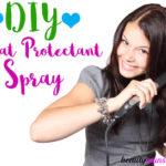 DIY Heat Protectant Spray to Prevent Hair Damage