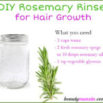 DIY Rosemary Hair Rinse for Hair Growth, Gray Hair & Itchy Scalp