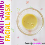 Homemade Anti-Aging Face Mask