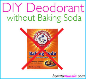 Homemade Deodorant without Baking Soda