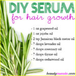 Homemade Serum for Hair Growth | For Longer Thicker Hair!