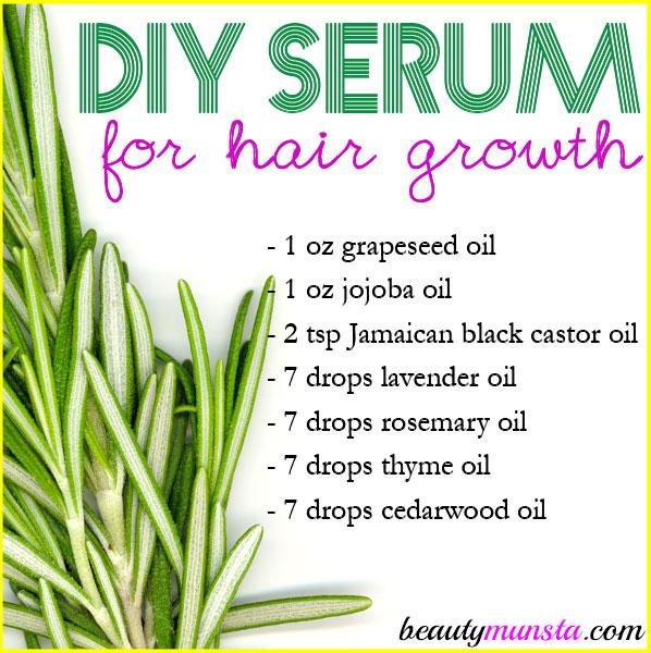 Homemade Serum for Hair Growth | For Longer Thicker Hair